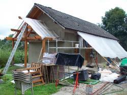 chantier bien protégé